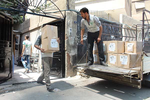 مشروع سلل صحية وشتوية (ريف حمص- قلمون-غوطة)Home