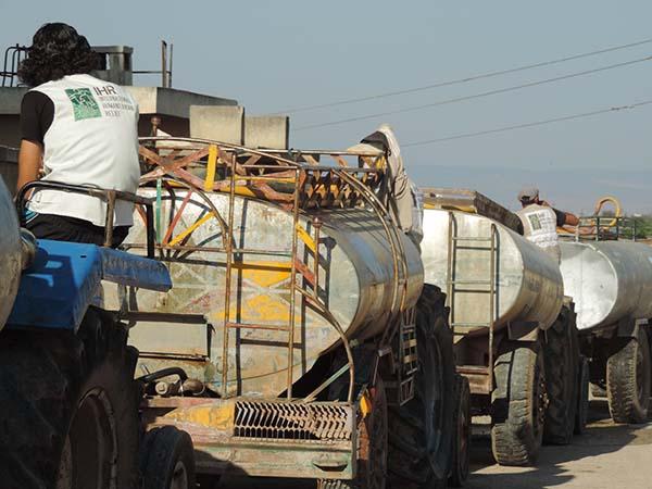 مشروع صهاريج والضخ (ريف حمص )0HOme