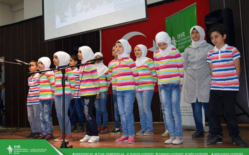 The closing ceremony of the first session of Peace Education project
