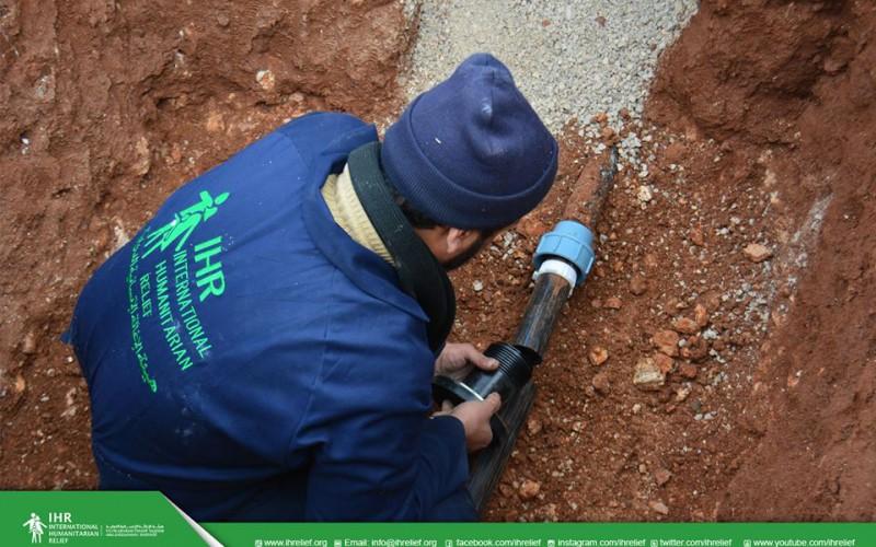 """تحسين البنى التحتية في مدينة تلبيسة """"ريف حمص شمالي"""""""