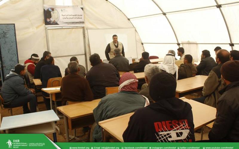 """تدريب طرق الري الحديثة """"ريف حلب الشمالي"""""""