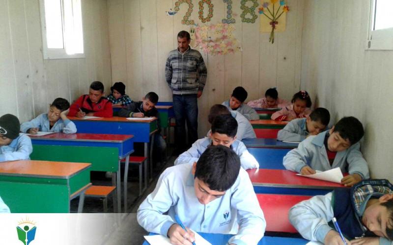انتهاء العام الدراسي في مراكز الأمل التعليمية